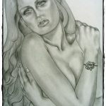 Art: Portraits, drawings, paintings - Beauty drawing