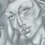 Art: Portraits, drawings, paintings - Cubism drawing