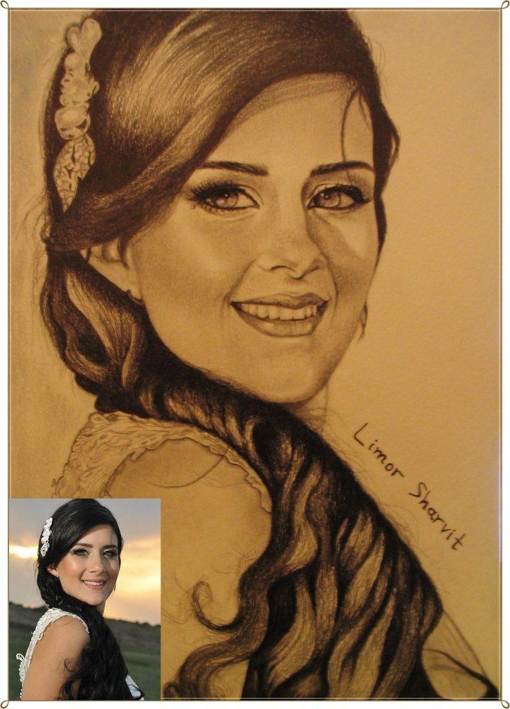 Portraits to order - Einat Schmal