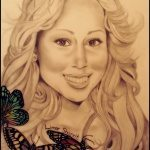 Art: Portraits, drawings, paintings - Mariah Carey