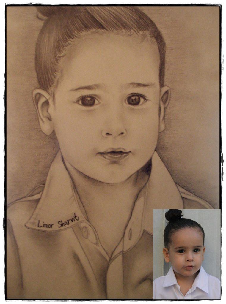 Portraits to order - Osher Ori