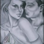 Art: Portraits, drawings, paintings - Passion drawing