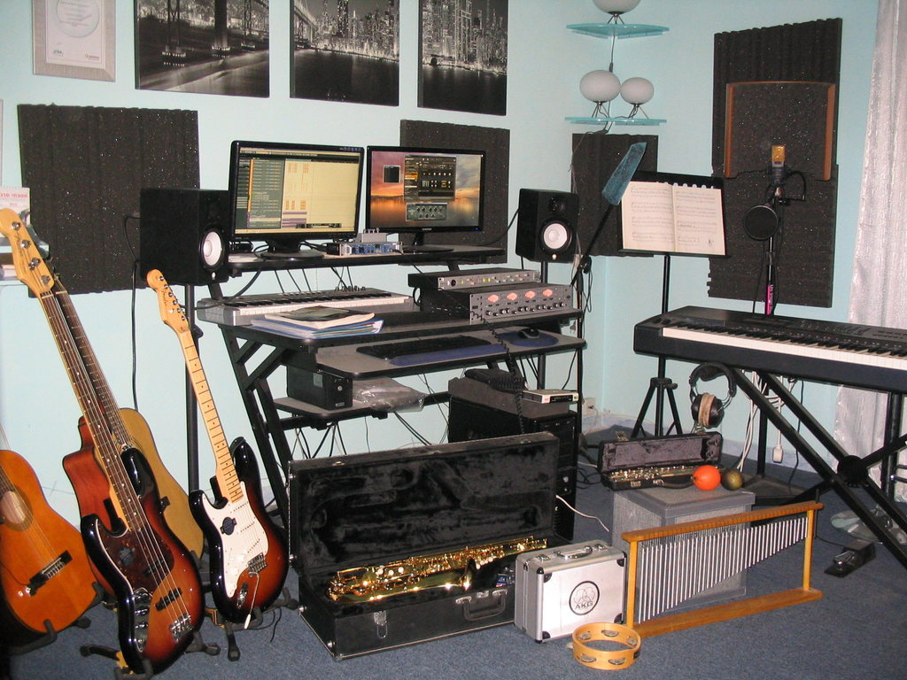 My home recording studio - Music productions for singer-songwriters
