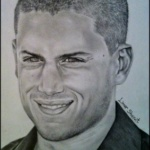 Art: Portraits, drawings, paintings - Wentworth Miller